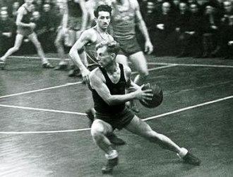 Joann Lõssov - Joann Lõssov during basketball game