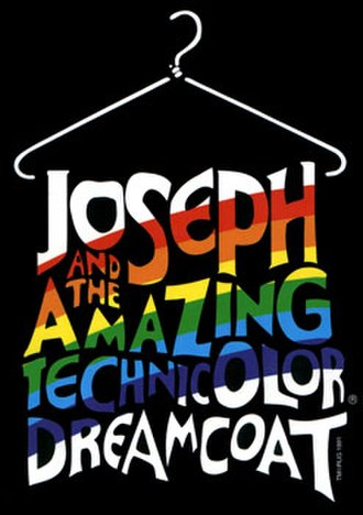 Joseph and the Amazing Technicolor Dreamcoat - 1991 Revivals Logo