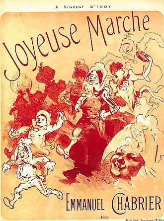 Joyeuse marche - 1890 edition of Joyeuse marche