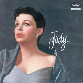 Judy (Judy Garland album) - Image: Judy album cover
