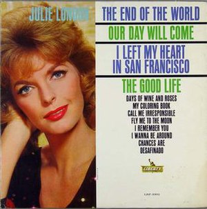 The End of the World (Julie London album) - Image: Julie London The End Of The World