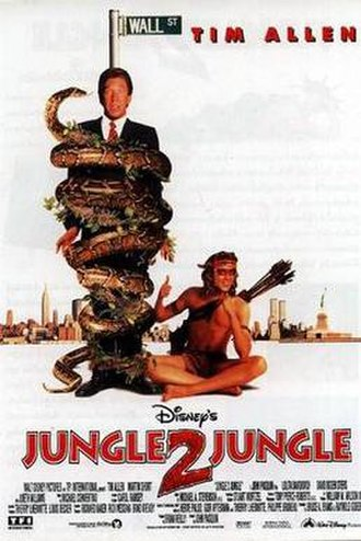Jungle 2 Jungle - Theatrical release poster