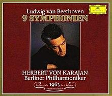 250e anniversaire de Beethoven (1770 - 1827) 220px-Karajan_Beethoven_Symphonies_1963