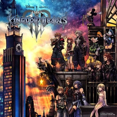 Picture of a game: Kingdom Hearts III