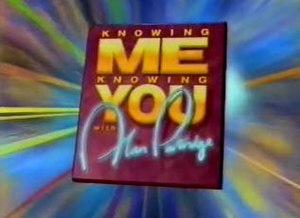 Knowing Me Knowing You with Alan Partridge (TV series) - Knowing Me Knowing You titlescreen