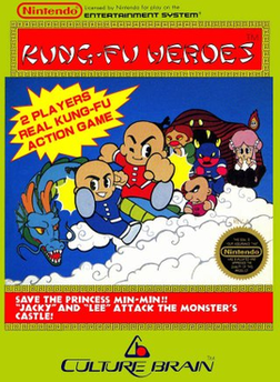 Front cover of Kung-Fu Heroes