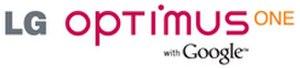 LG Optimus One - Image: LG Optimus One logo 220px