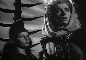 Lady Macduff - Peggy Webber (right) as Lady Macduff in Orson Welles' film adaptation Macbeth (1948 film)