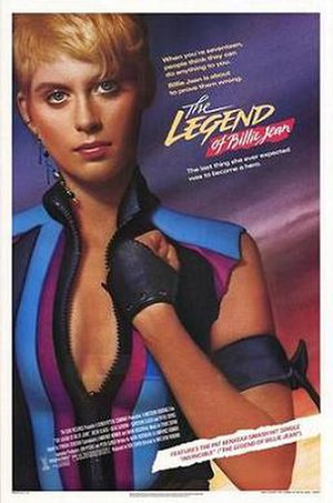 The Legend of Billie Jean - Theatrical release poster