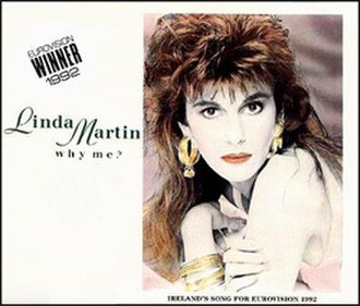 Why Me? (Linda Martin song) - Image: Linda Martin Why Me
