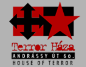 House of Terror - The logo of the museum