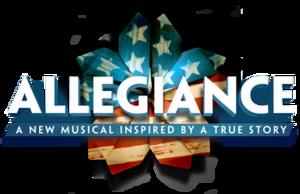 Allegiance (musical) - Logo of the musical Allegiance