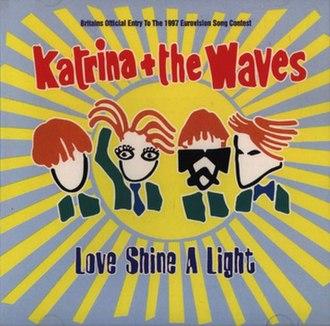 Love Shine a Light - Image: Love shine a light