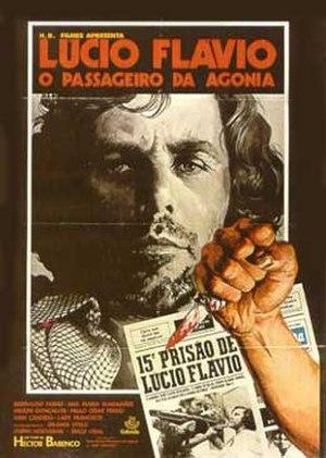 Lucio Flavio (film) - Theatrical release poster