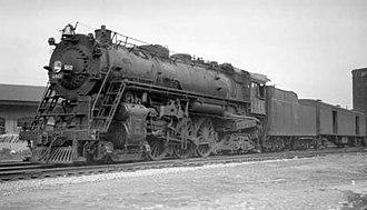Milwaukee Road class F6 - Image: MILW F6a