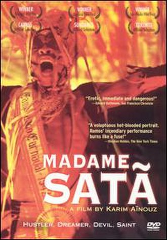 Madame Satã (film) - DVD cover