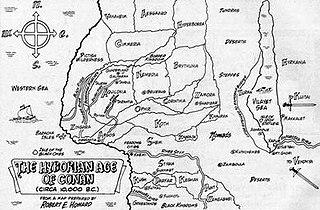 Hyborian Age Fictional period created by Robert E. Howard