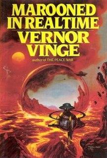 <i>Marooned in Realtime</i> novel by Vernor Vinge