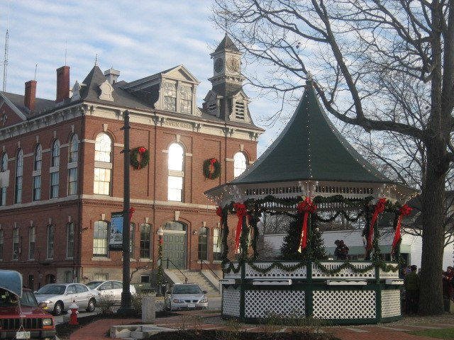 Milford NH Bandstand