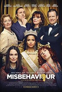 <i>Misbehaviour</i> (film) 2020 film directed by Philippa Lowthorpe