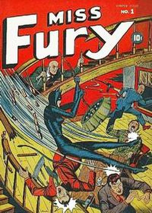 Black Fury (comics) - Image: Miss Fury Timely