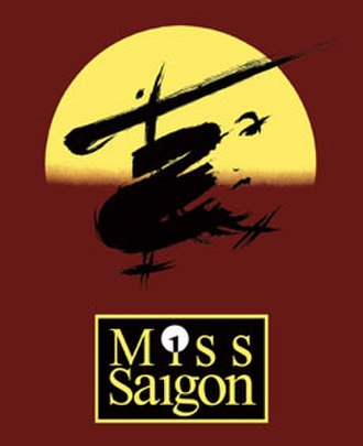Miss Saigon - Original poster
