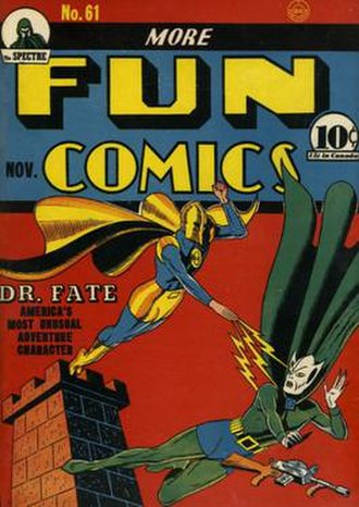 Doctor Fate - Image: More Fun Comics 61