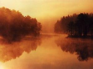 Sjömarken - Image: Morning Lake Viared