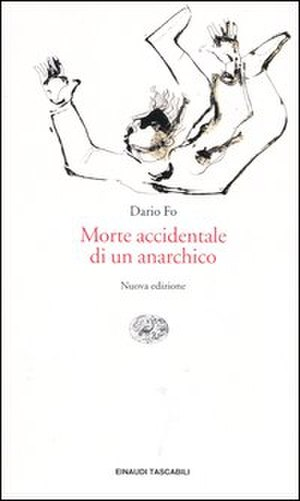 Accidental Death of an Anarchist - Cover of a 2004 Italian edition of Morte accidentale di un anarchico