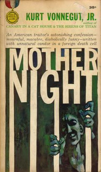 Mother Night - Cover art of first edition (paperback)
