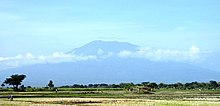 Mount Lawu viewed from Ngawi, East Java, Indonesia, Jun 14.jpg