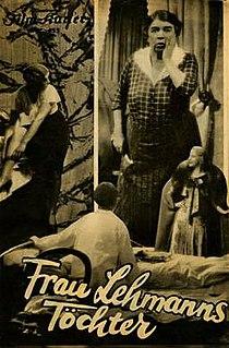 <i>Mrs. Lehmanns Daughters</i> 1932 film