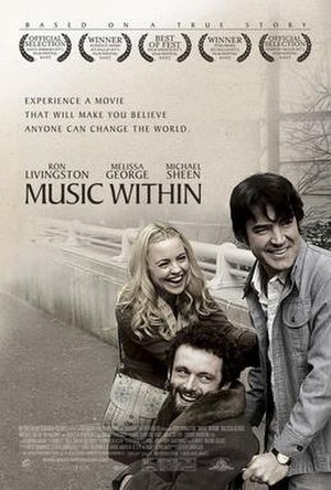 Music Within - Theatrical release poster