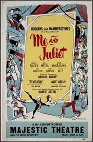 Me and Juliet - Original Broadway poster (1953)