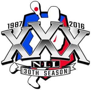 2016 NLL season - Image: NLL 30th season