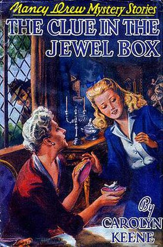 The Clue in the Jewel Box - Original edition cover