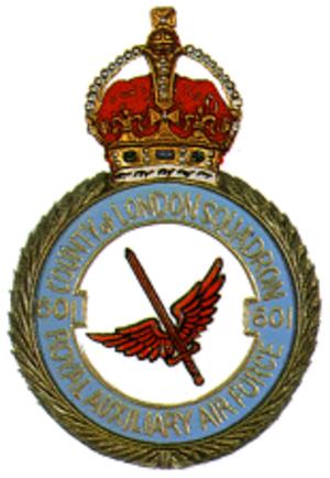 No. 601 Squadron RAF - Image: No 601 Squadron RAF