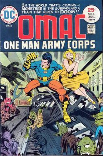 OMAC (Buddy Blank) - Image: OMAC6