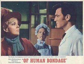Of Human Bondage (1964 film) - Image: Of Human Bondage 1964
