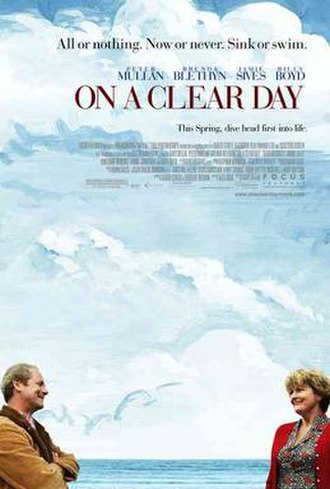 On a Clear Day (film) - Theatrical poster
