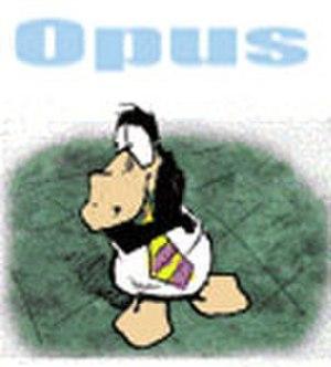 Opus (comic strip) - Image: Opus strip