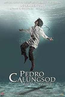 <i>Pedro Calungsod: Batang Martir</i> 2013 film directed by Francis O. Villacorta