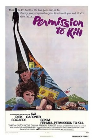 Permission to Kill - Original film poster