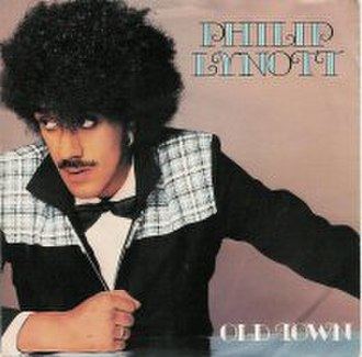 Old Town (song) - Image: Philip Lynott Old Town single cover