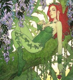 Poison Ivy on the variant cover of Batman vol. 3, #26 (September 2017). Art by Joshua Middleton.