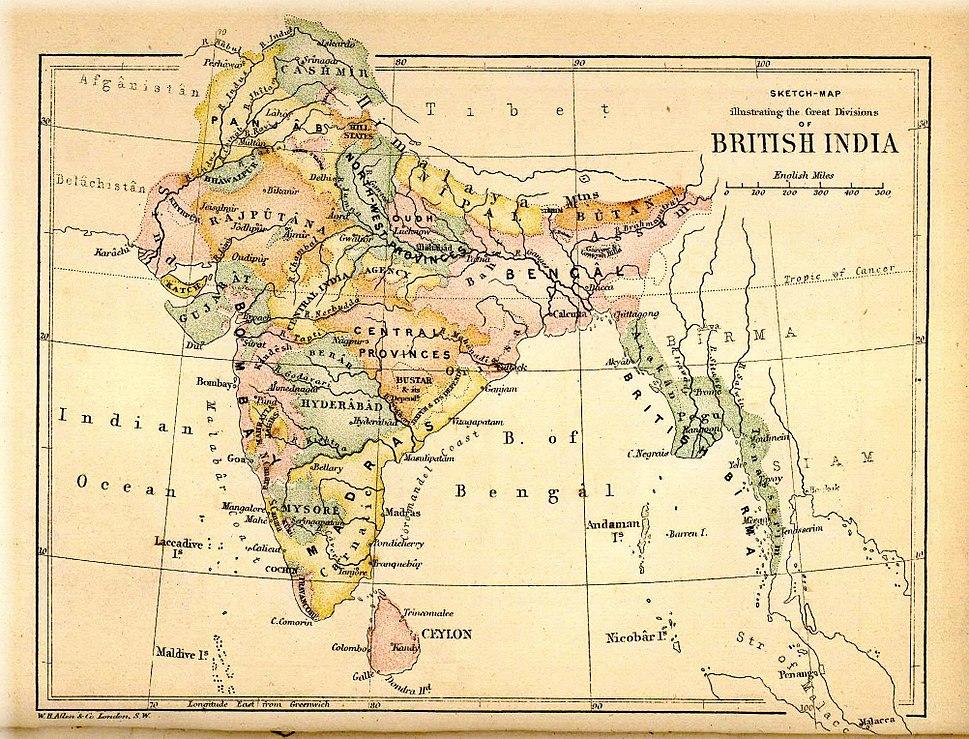 Pope1880BritishIndia1