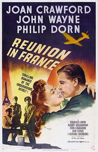 Reunion in France - Original theatrical poster