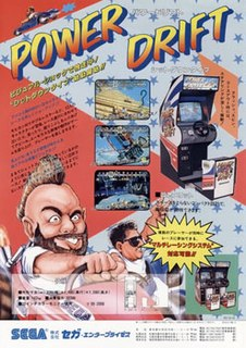 <i>Power Drift</i> 1988 video game