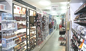 Priceline cosmetic isle