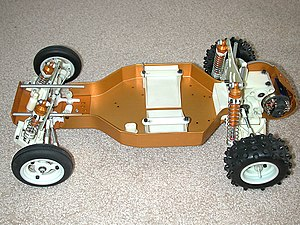 Associated Electrics - Early model RC10 buggy.